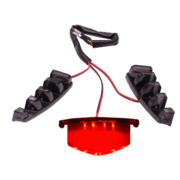 Verlichting Grill LED Rood | Piaggio Zip SP