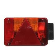 GLAS ACHTERLICHT (L) RADEX 5901/10/S
