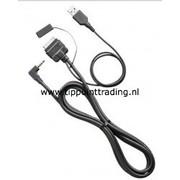 Opel Insigna (09>), Astra (10>) Adapter i-Pod - usb - Jack stereo 3.5 mm