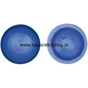 Afdekdop t.b.v. bouten blauw (50 stuks)