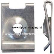 Speednut 4,2 mm verzinkt au vw bmw opel merc ford psa (50 stuks)