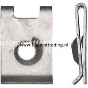 Speednut 6,3 mm mkb zilver bmw merc ford opel volvo (50 stuks)