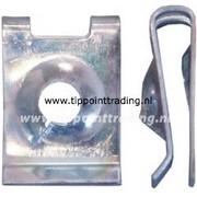 Speednut 4,8 mm verzinkt vw merc (50 stuks)