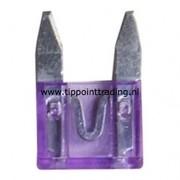 Mini steekzekeringen 10 mm 35 A (25 stuks)