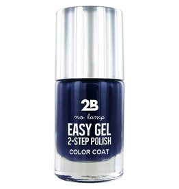 2B Cosmetics Easy gel 2 step polish - Denim blue