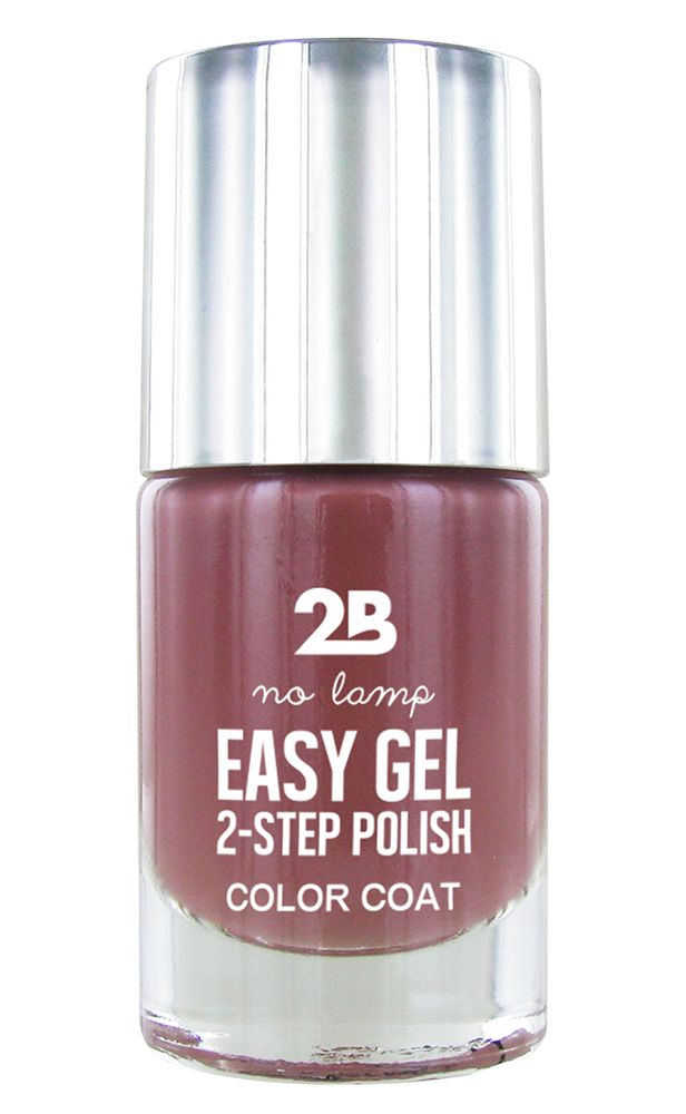 2B Cosmetics Easy gel 2 step polish - Rose Taupe