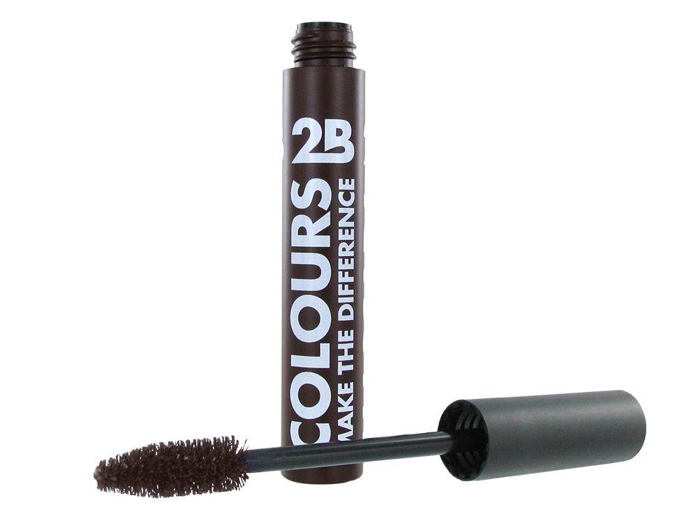 2B Cosmetics Mascara Colours - 12 Chocolate