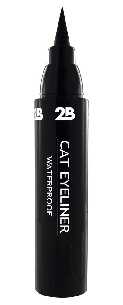 2B Cosmetics CAT EYELINER - BLACK