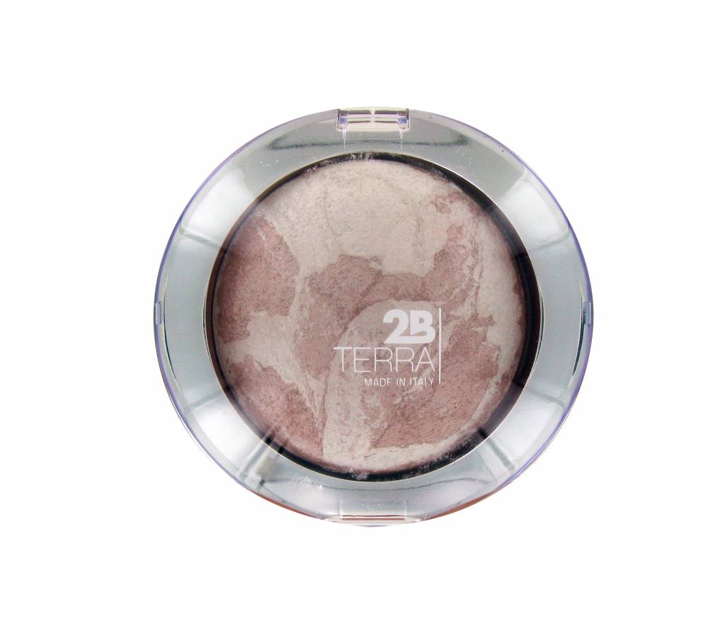 2B Cosmetics Baked Mineral Highlighter - 01 Pink Highlighter