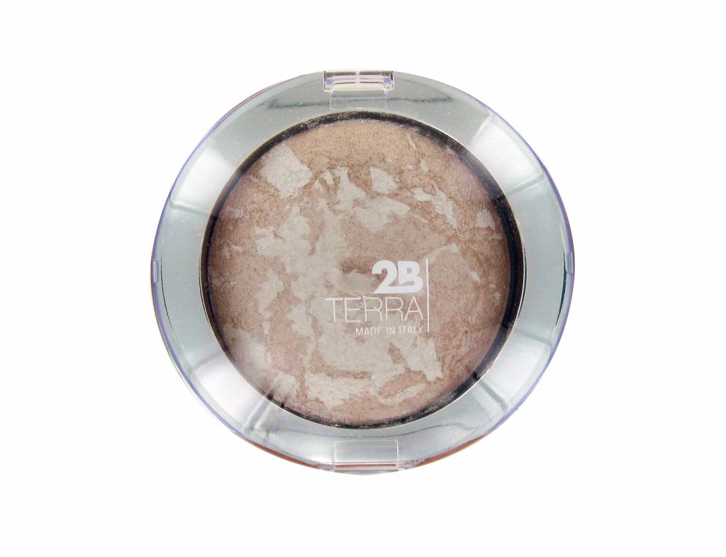 2B Cosmetics Baked Mineral Highlighter - 02 Cream Highlighter