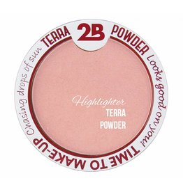 2B Cosmetics Highlighter De Luxe Aquaproof- 02 Pink Glow