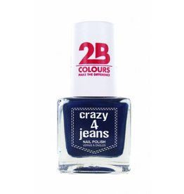 2B Cosmetics Nail Polish 718 Crazy 4 Jeans