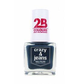 2B Cosmetics Nail Polish 722 Crazy 4 Jeans