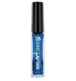 2B Cosmetics Nail Art Liner 06 Azuur Blauw