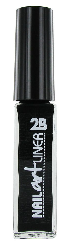 2B Cosmetics Nail Art Liner 01 Black