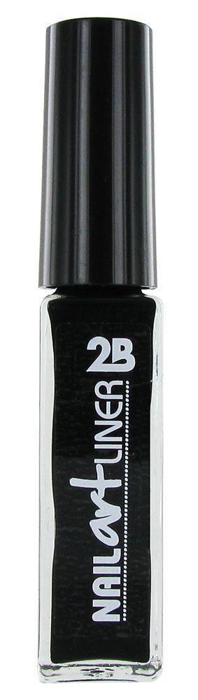 2B Cosmetics Nail Art Liner 01 Zwart