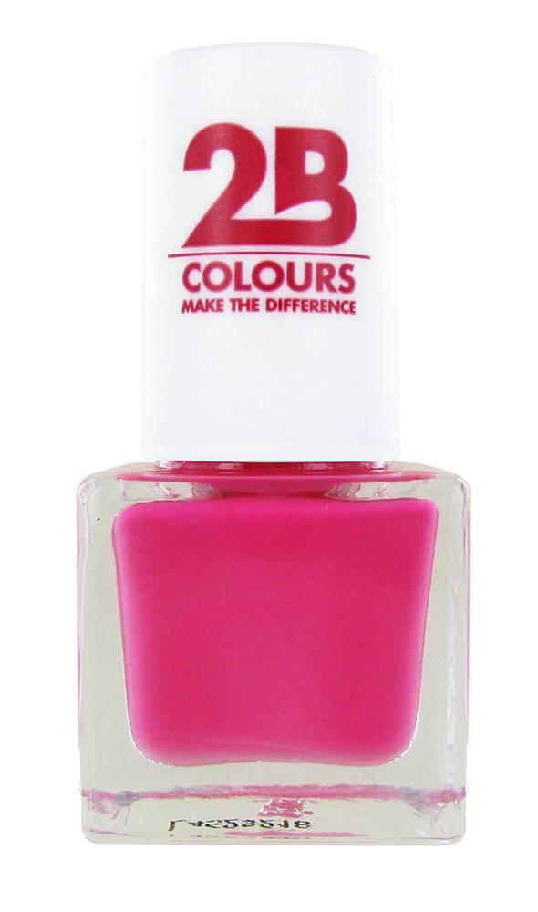 2B Cosmetics NAGELLAK MEGA COLOURS MINI - 104 Strawberry Fields