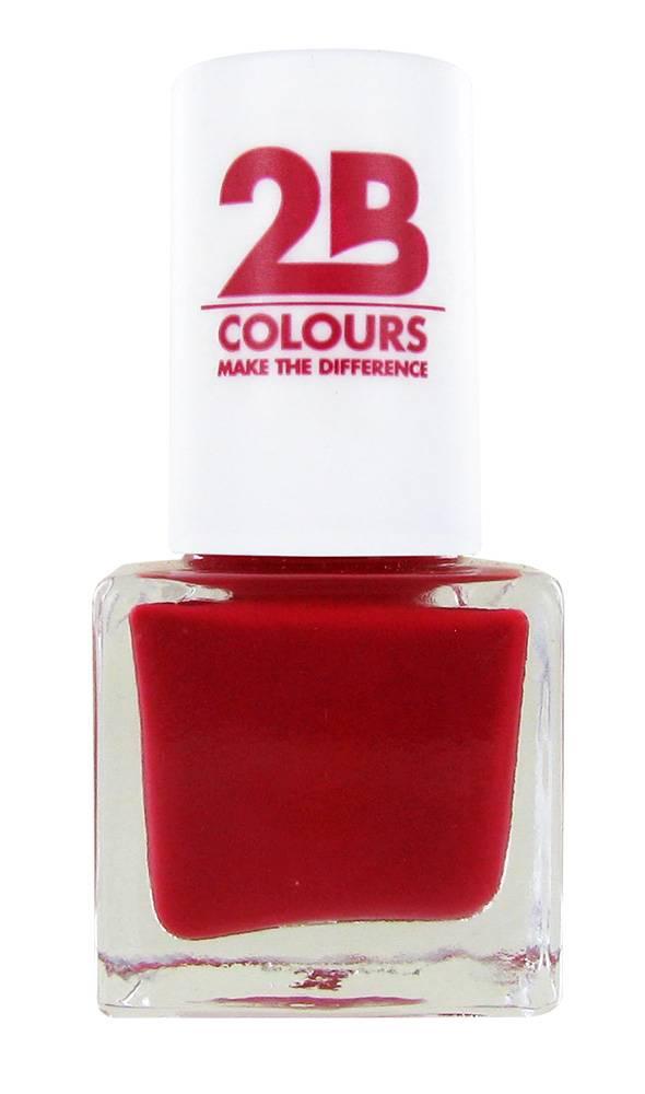 2B Cosmetics VERNIS à ONGLES MEGA COLOURS MINI - 105 Forever Salsa