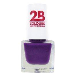 2B Cosmetics VERNIS à ONGLES MEGA COLOURS MINI - 106 Royal Purple