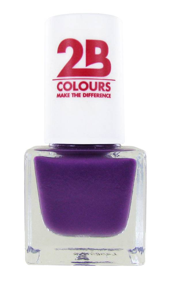 2B Cosmetics NAIL POLISH MEGA COLOURS MINI - 106 Royal Purple