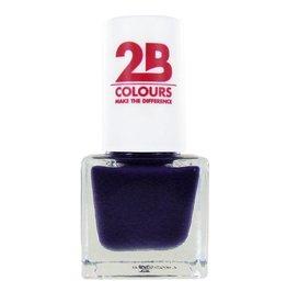 2B Cosmetics NAGELLAK MEGA COLOURS MINI - 107 Deep Purple