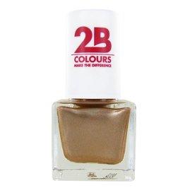 2B Cosmetics NAGELLAK MEGA COLOURS MINI - 109 Golden Dreams