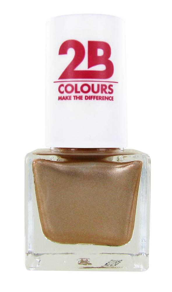 2B Cosmetics VERNIS à ONGLES MEGA COLOURS MINI - 109 Golden Dreams