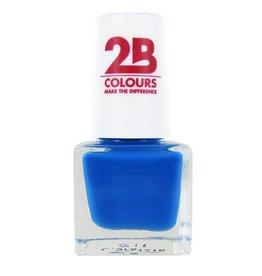 2B Cosmetics VERNIS à ONGLES MEGA COLOURS MINI - 103 Blue Journey