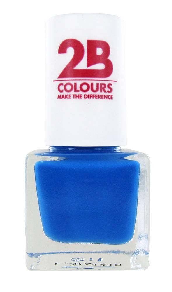 2B Cosmetics NAGELLAK MEGA COLOURS MINI - 103 Blue Journey