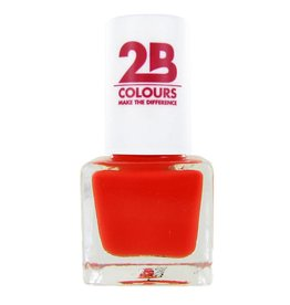 2B Cosmetics NAGELLAK MEGA COLOURS MINI - 101 Awesome Orange
