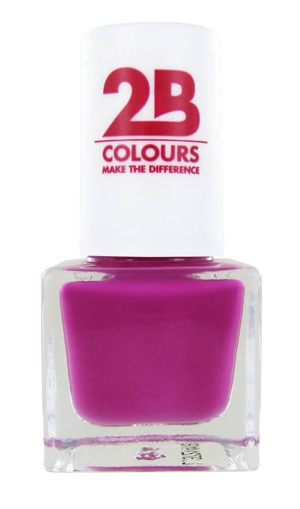 2B Cosmetics VERNIS à ONGLES MEGA COLOURS MINI - 97 Pink Symphony
