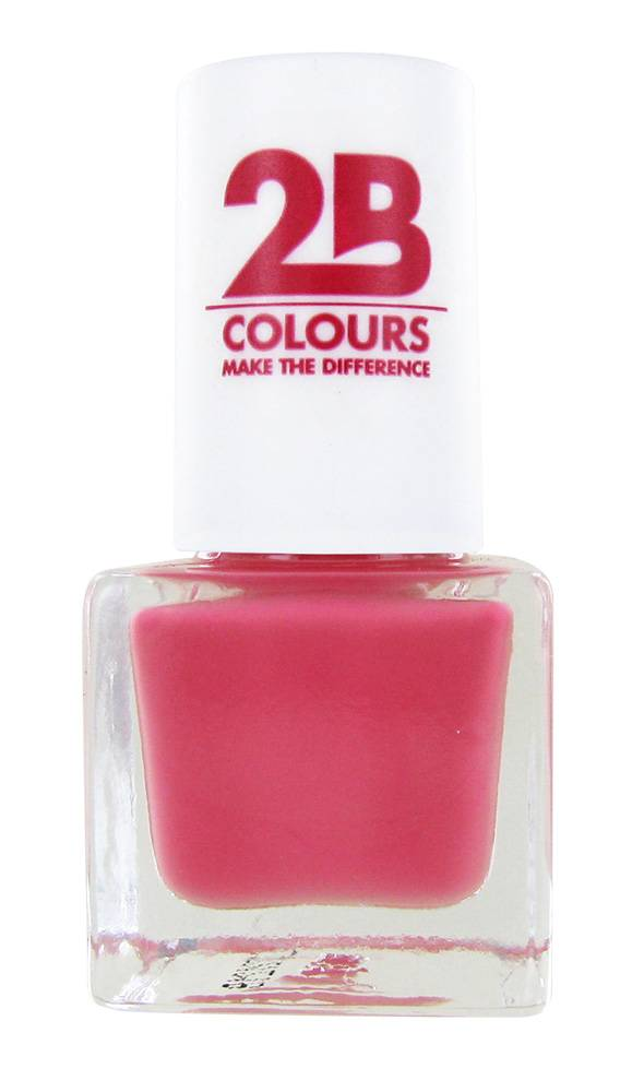 2B Cosmetics VERNIS à ONGLES MEGA COLOURS MINI - 96 Blossom Secret