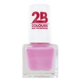 2B Cosmetics NAGELLAK MEGA COLOURS MINI - 95 Sweet & Pink