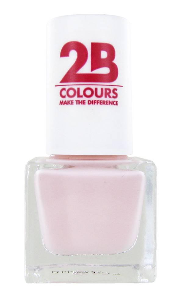 2B Cosmetics VERNIS à ONGLES MEGA COLOURS MINI - 94 Silk Vanilla