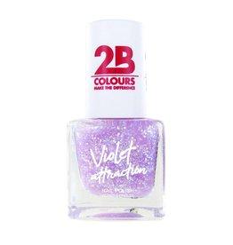 2B Cosmetics Nagellak 730 Violet Attraction