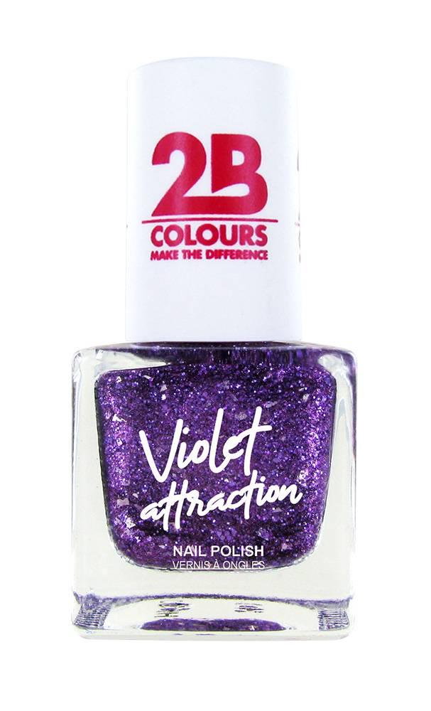2B Cosmetics Nail Polish 731 Violet Attraction