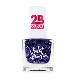 2B Cosmetics Vernis à ongles 732 Violet Attraction