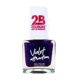 2B Cosmetics Nagellak 733 Violet Attraction