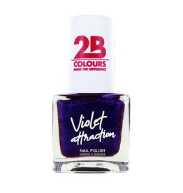 2B Cosmetics Vernis à ongles  733 Violet Attraction