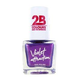 2B Cosmetics Nail Polish  734 Violet Attraction