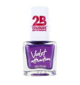 2B Cosmetics Vernis à ongles  734 Violet Attraction