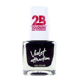 2B Cosmetics Nagellak 735 Violet Attraction