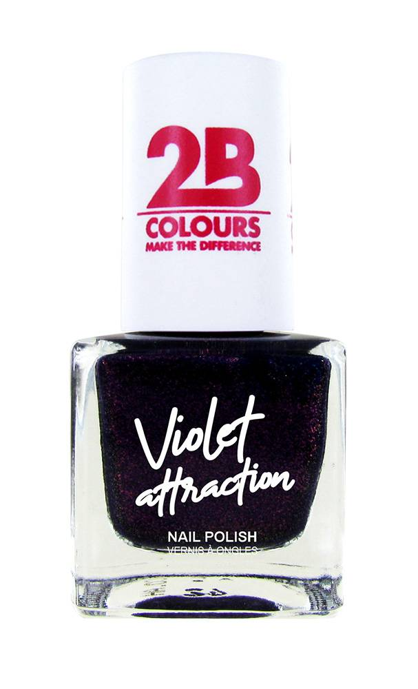 2B Cosmetics Nail Polish  735 Violet Attraction