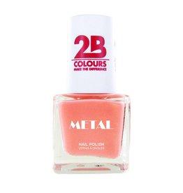 2B Cosmetics Vernis à ongles Metal 724 Flamingo Coral