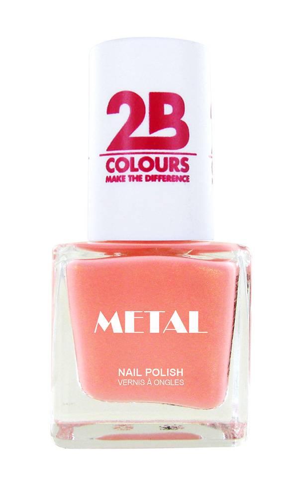 2B Cosmetics Nail polish Metal 724 Flamingo Coral