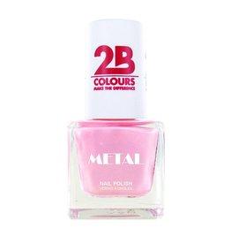 2B Cosmetics Nagellak Metal 725 Pink Ballet
