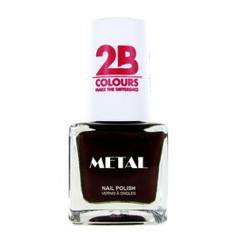 2B Cosmetics Vernis à ongles Metal 727 Burgundy