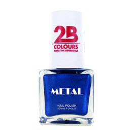 2B Cosmetics Vernis à ongles Metal 728 Royal Blue