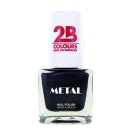 2B Cosmetics Nagellak Metal 729 Grey Water