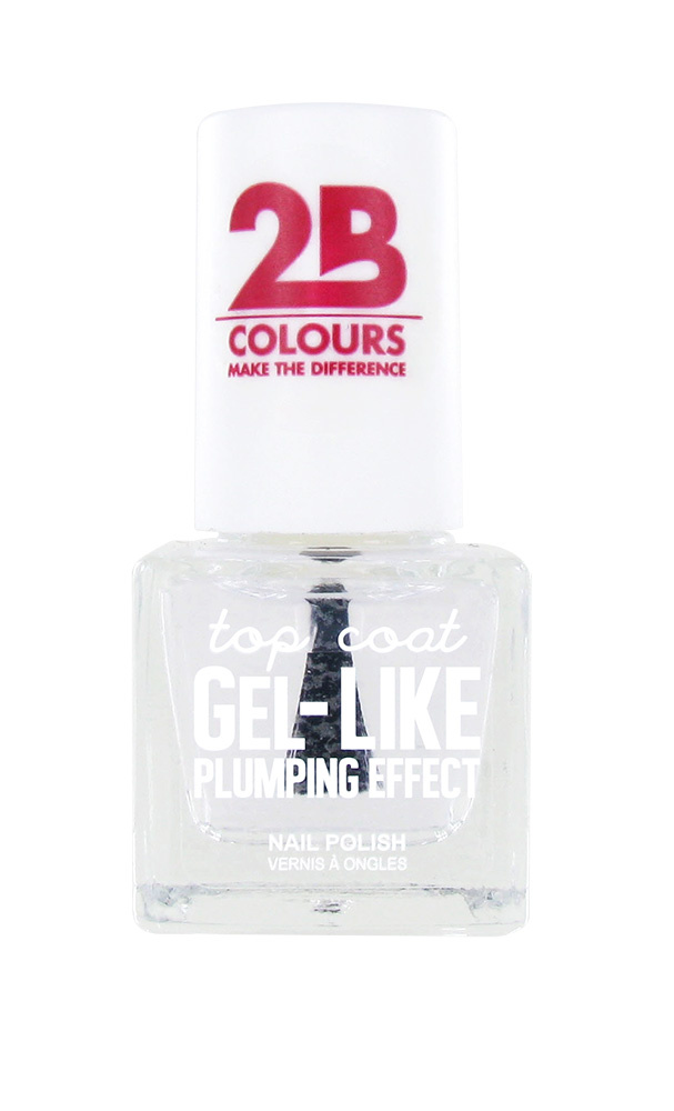 2B Cosmetics TOP COAT - 667 Gel-like Plumping